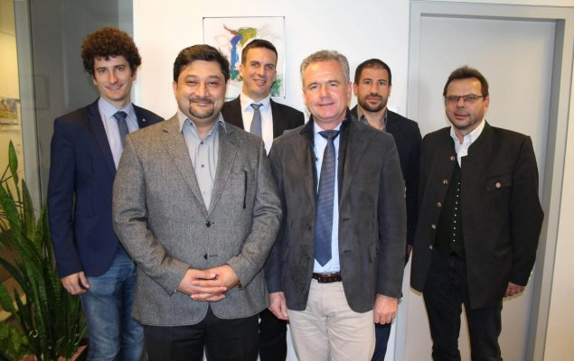 IFIA Chairman Majid Movafegh Ghadirly on official visit in Austria, 2017
