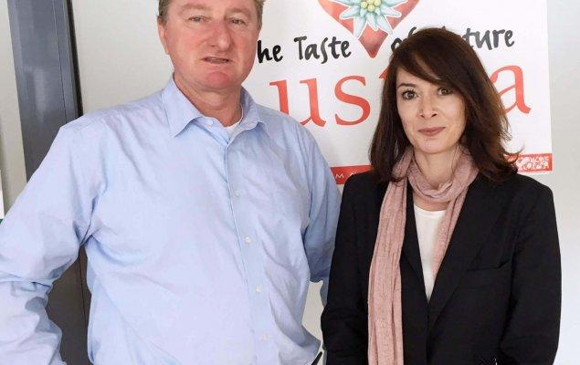 Dr. Christian Brawenz and Ms. Svetlana Bejatović, Attaché Office Belgrade